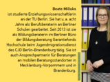 Interview mit Beate Milluks (Bildungsberaterin GF-H)